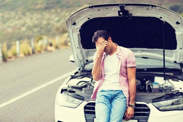 mal estado o fallas del vehículo