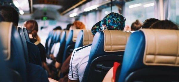 Accidentes de trafico en transporte publico
