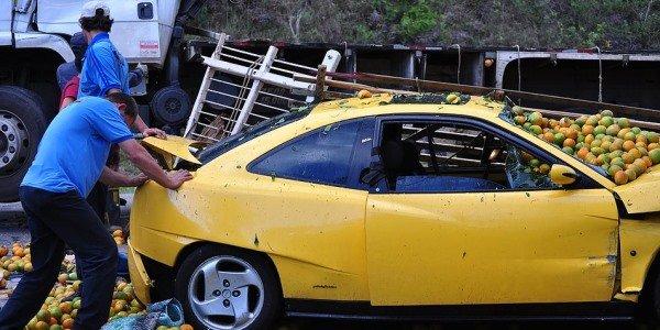 Que hacer al sufrir un accidente de trafico